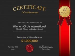 AdamCertificate Earn 1m.pdf